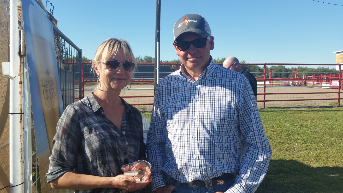 CEO Dean Ness & Ingrid – Getting to enjoy the fruits of their labour